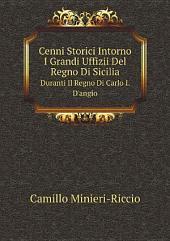 Cenni Storici Intorno I Grandi Uffizii Del Regno Di Sicilia
