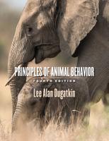 Principles of Animal Behavior  4th Edition PDF