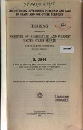 Grain Futures: Hearings Before ..., 67-2 on H.R. 11843 ..., July 11, 12, 13, 1922