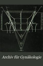 Arch gynakol: Band 22