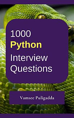 1000 Python Interview Questions and Answers PDF