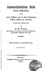 Landwirtschaftliche Reise durch Schlesien