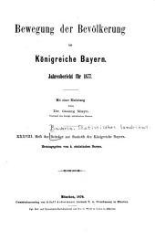Beiträge zur Statistik Bayerns: Ausgabe 38