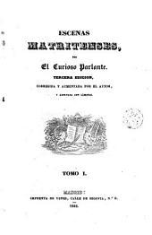 Escenas matritenses, 1-2: Volumen 2