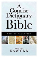 A Concise Dictionary of the Bible and Its Reception PDF