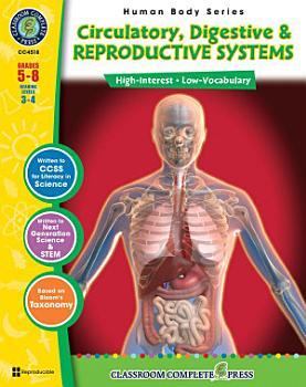 Circulatory  Digestive   Reproductive Systems Gr  5 8 PDF