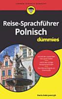 Reise Sprachf  hrer Polnisch f  r Dummies PDF