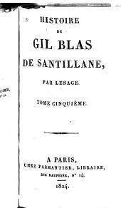 Histoire de Gil Blas de Santillane: Volumes5à6