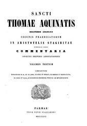 Sancti Thomae Aquinatis doctoris Angelici ordinis praedicatorum summa Theologica