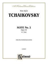 Suite No. 2 in C Major, Op. 53: Piano Duet (1 Piano, 4 Hands)