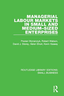 Managerial Labour Markets in Small and Medium Sized Enterprises PDF