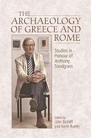 Archaeology of Greece and Rome PDF