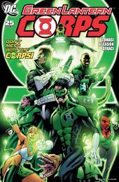 Green Lantern Corps (2006-) #25