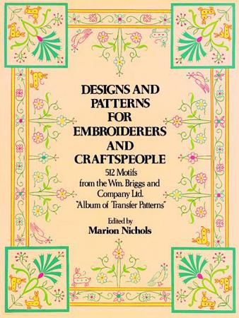 Designs and Patterns for Embroiderers and Craftspeople PDF