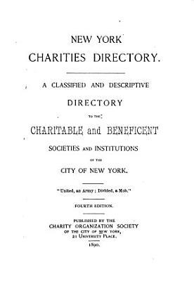 The New York Charities Directory PDF