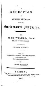 A Selection of Curious Articles from the Gentleman's Magazine: Volume 2