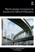 The Routledge Companion to Social and Political Philosophy PDF