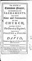 The Book of Common Prayer and Administration of the Sacraments and Other Rites and Ceremonies of the Church According to the Use of the Church of England  Together with The Psalter Or Psalms of David    PDF