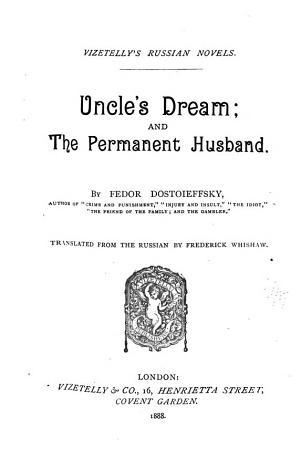 Uncle s Dream PDF