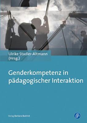 Genderkompetenz in p  dagogischer Interaktion PDF