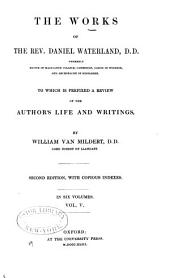 The Works of the Rev. Daniel Waterland, D. D.: To which is Prefixed a Review of the Author's Life and Writings, Volume 5