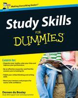 Study Skills For Dummies PDF