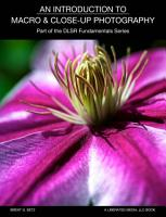 An Introduction To Macro And Close Up Photography PDF
