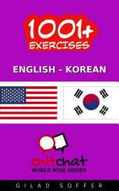 1001+ Exercises English - Korean