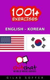 1001+ Exercises English - Korean
