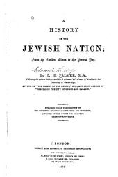 A History of the Jewish Nation: From the Earliest Times to the Present Day