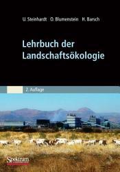 Lehrbuch der Landschafts  kologie PDF