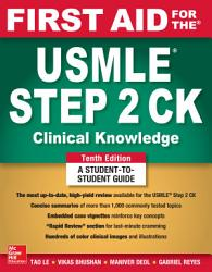 First Aid For The Usmle Step 2 Ck Tenth Edition Book PDF