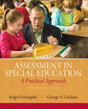 Assessment in Special Education Book