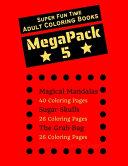Super Fun Time MEGAPACK 5 - Adult Coloring Books