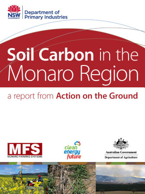 Soil Carbon in the Monaro Region PDF
