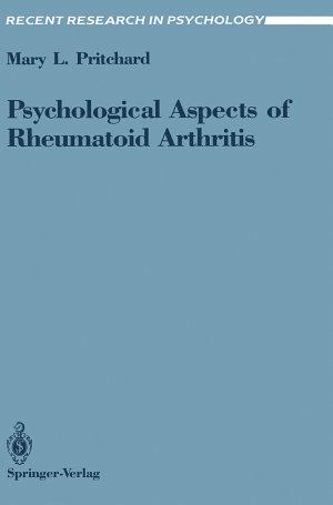 Psychological Aspects of Rheumatoid Arthritis