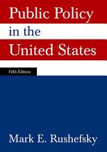 Public Policy in the United States PDF