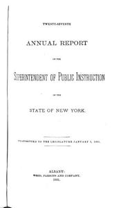 Annual Report of the State Superintendent for the School Year     PDF