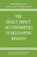 The Policy Impact of Universities in Developing Regions PDF