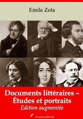Documents littéraires – Études et portraits: Nouvelle édition augmentée