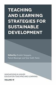 Teaching and Learning Strategies for Sustainable Development PDF