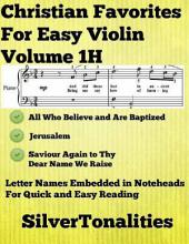 Christian Favorites for Easy Piano Volume 1 H