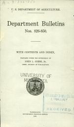 Department Bulletin