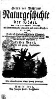 Herrn von Buffons Naturgeschichte der V  gel PDF