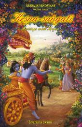 Kṛṣṇa-saṅgati: Meetings with Kṛṣṇa