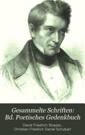 Bd. Poetisches Gedenkbuch