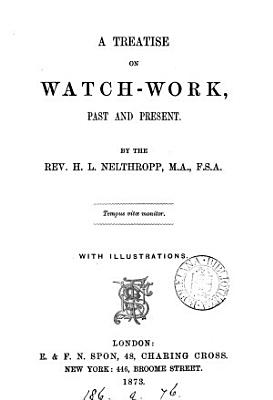 A Treatise on Watch work PDF