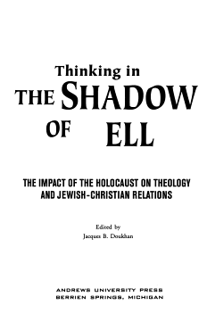 Thinking in the Shadow of Hell PDF