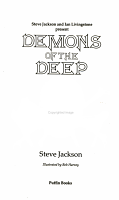 Demons of the Deep PDF