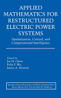 Applied Mathematics for Restructured Electric Power Systems PDF